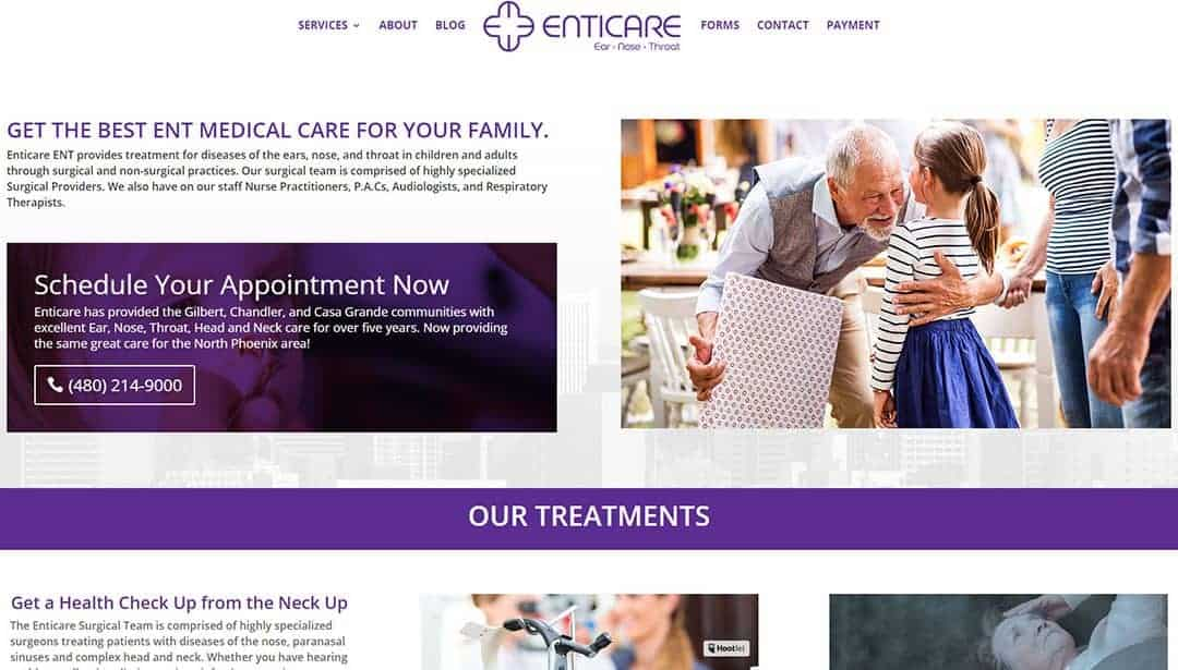 Welcome to the new Enticare.com!