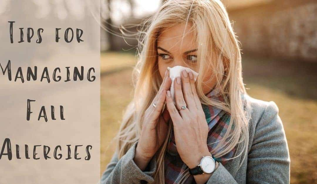 Tips for Managing Fall Allergies