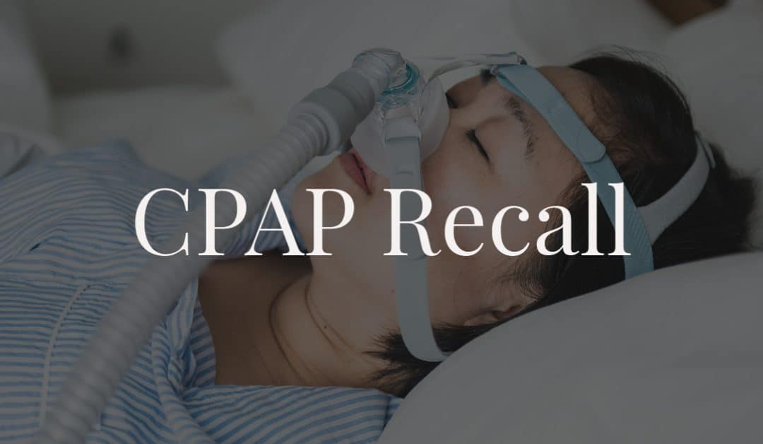 CPAP Recall